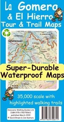 Wandelkaart La Gomera Tour & Trail 1:35.000 Map 8th. ed. 2019