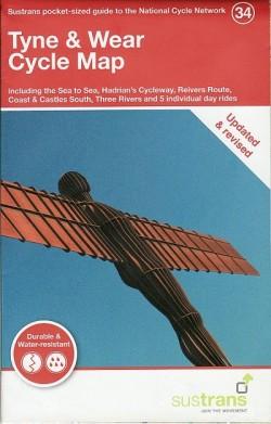 Fietskaart Tyne & Wear Cycle Map (34)