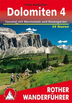 Rother Wanderführer Dolomiten 4 - Fassatal