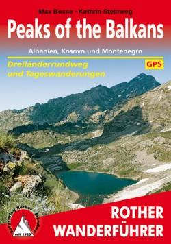 Wandelgids Peaks of the Balkans 47 Etappen (2.A 2018)