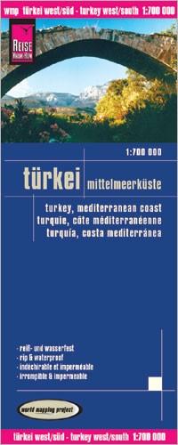 LK Turkey/mediterranean coast 1:700 000 4.A 2012