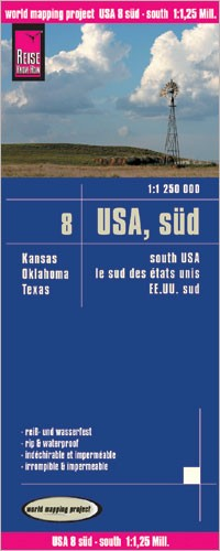 LK USA-8 Süd 1:1.25m (1.A 2008)