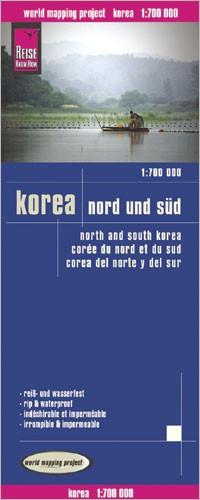 LK Korea North & South 1:700 000 1.A 2013