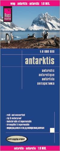 Landkaart Antarctic-Antarktis 1:8m 1.A  2013 PLANO