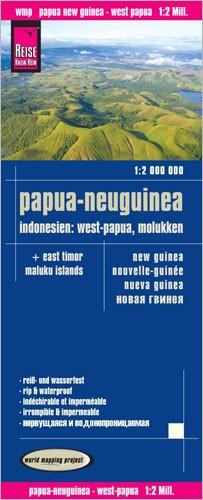 Wegenkaart Papua/Nieuw Guinea & Molukken 1:2m 1.A 2015
