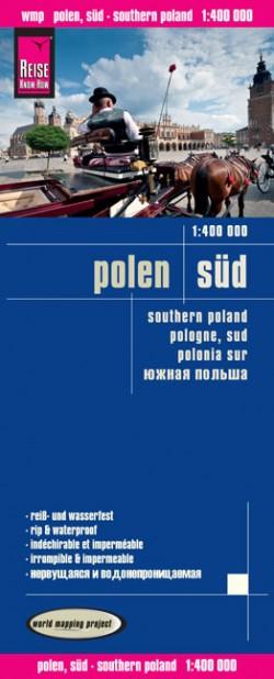 Wegenkaart Polen Süd 1:400 000 1.A 2014