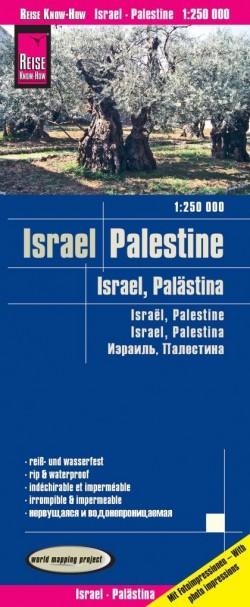 Wegenkaart Israel - Palestine 1:250 000 (11.A 2018)