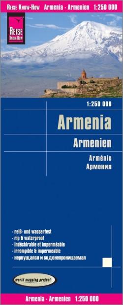 Wegenkaart Armenia-Armenien 1:250.000 4.A 2020