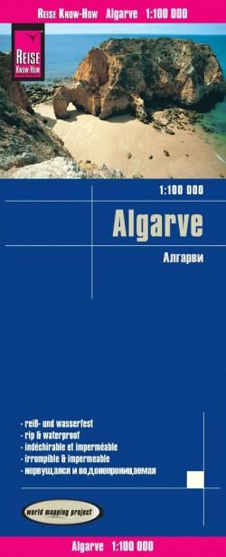 Wegenkaart Algarve 1:100.000 7.A 2019
