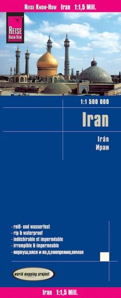 Wegenkaart Iran 1:1 500.000 10.A 2017