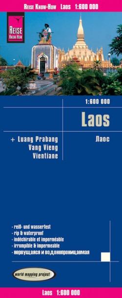 Wegenkaart Laos 1:600.000  7.A 2017