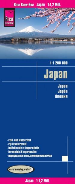 Wegenkaart Japan 1:1.200.000  8.A 2017