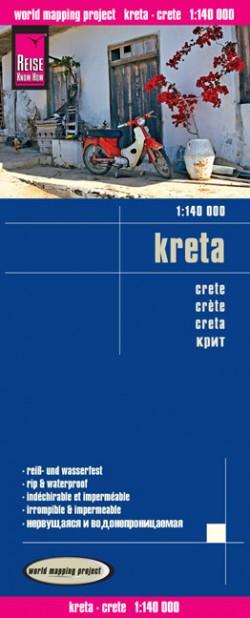 Wegenkaart Kreta 1:140.000 6.A 2015