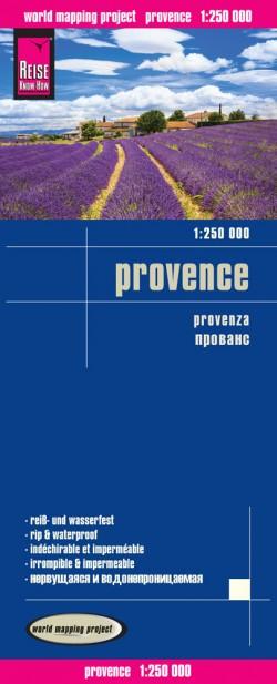 Wegenkaart Provence 1:250.000 1.A 2015