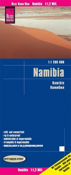 Wegenkaart Namibia 1:1,200.000 16.A 2020