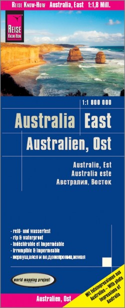 Landkaart Australia-East/Australien-Ost 1:1 800.000 9.A 2019
