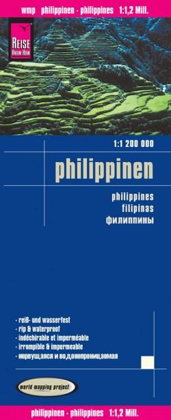 Wegenkaart Philippinen/Philippines 1:1,2 mil. 2.A 2015