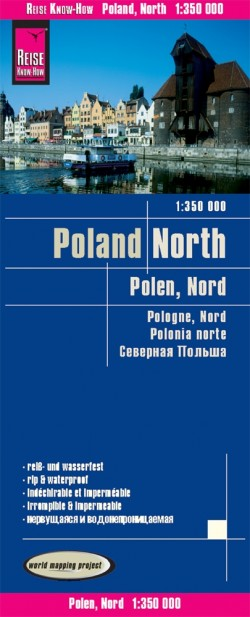 Landkaart Polen-Noord 1:350.000 6.A 2019