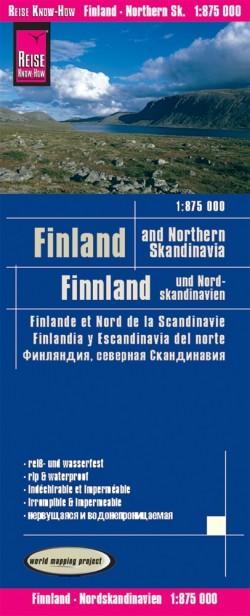 Landkaart Finland & Northern Scandinavia 1:875.000 5.A 2019