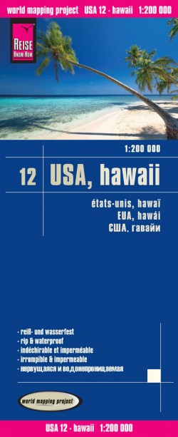 LK USA-12 Hawaii 1:200.000  3.A 2016