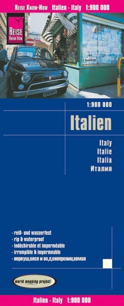 Wegenkaart Italië-Italien-Italy 1:900.000  3.A 2017