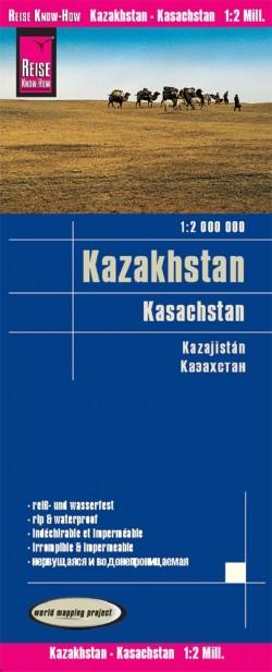 Landkaart Kasachstan 1:2m  5.A 2019
