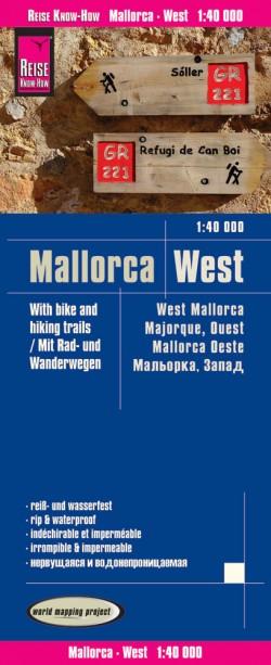 Wegenkaart Mallorca West 1:40.000  5.A 2017