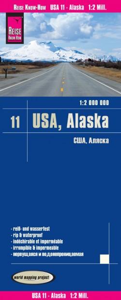 Wegenkaart USA-11 Alaska 1:2 000.000 5.A 2017