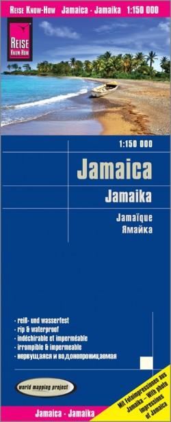 Wegenkaart Jamaica 1:150.000  3.A 2018