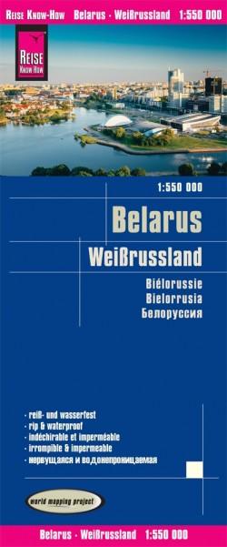 Landkaart Belarus 1:550.000 1.A 2018