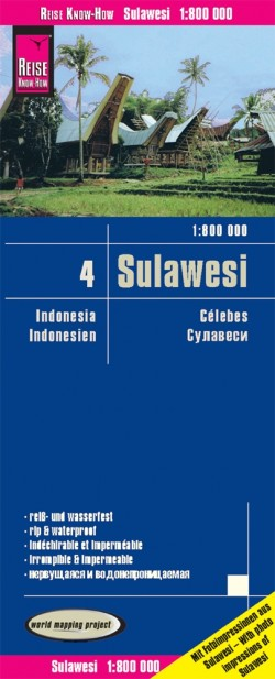 Landkaart Indonesia 4: Sulawesi 1:800.000  2.A 2019