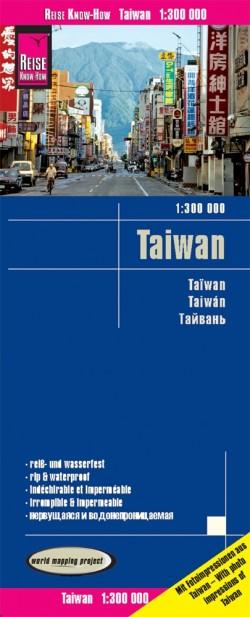 Landkaart Taiwan 1:300.000 (2019)