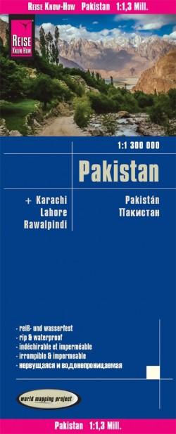 Wegenkaart Pakistan 1:1.3m  2.A 2019