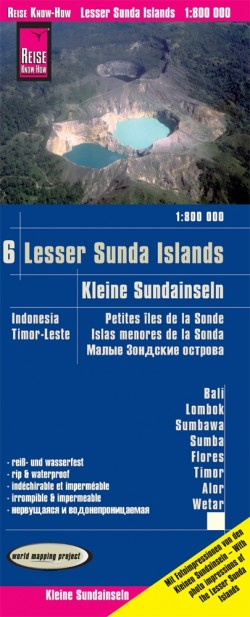 LK Indonesia 6: Lesser Sunda Islands-Inseln Nusa Tenggara 1:800 000  2.A 2019