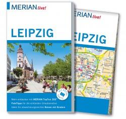 Reisgids Merian live! Leipzig mit Stadtplan 1:17.000  1.A 2015
