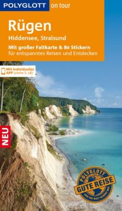 Polyglott on tour Rügen, Hiddensee, Stralsund Met grote kaart en 80 stickers