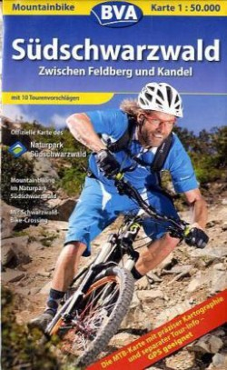 Fietskaart BVA Mountainbike Karte  Südschwarzwald (Feldberg-Kandel)  1:50.000