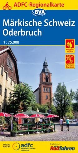 BVA Regionalkarte Märkische Schweiz 1:75.000