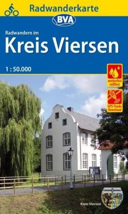 Fietskaart BVA-Radwandern im Kreis Viersen 1:50.000 (2019)