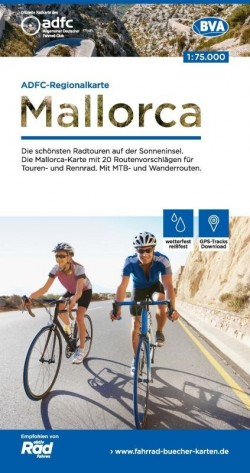 Fietskaart BVA-ADFC Regionalkarte Mallorca  1:75.000 (1.A 2018)