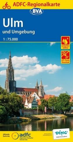 BVA Regionalkarte Ulm und Umgebung 1:75.000 (5.A 2018)