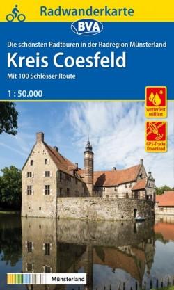 Fietskaart BVA Radwanderkarte Kreis Coesfeld 1:50.000  (2019)