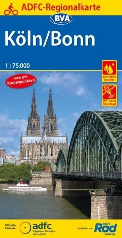BVA-ADFC Regionalkarte Köln/Bonn 1:75.000 7.A 2019