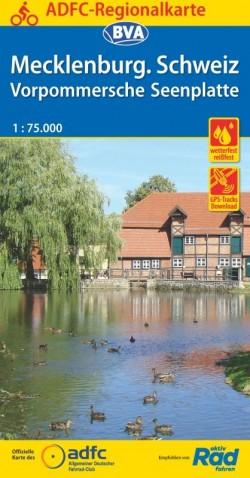 ADFC Regionalkarte Mecklenburg. Schweiz 1:75.000 (2019)