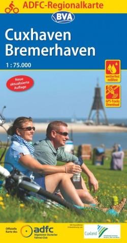 BVA-ADFC Regionalkarte Cuxhaven/Bremerhaven 1:75.000 6.A 2019