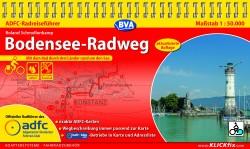 Fietsgids Bodensee-Radweg 1:50.000 (2.A 2019)