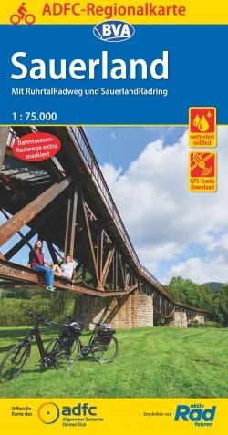 BVA-ADFC Regionalkarte Sauerland 1:75.000 (2019)