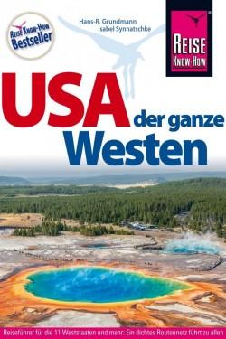 Reisgids RKH USA der ganze Westen 21e editie 2017