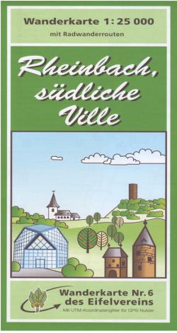 Wandelkaart Rheinbach südliche Ville 1:25.000 (6)