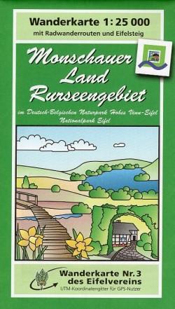 Wandelkaart Monschauer Land Rurseengebiet 1:25.000 (3)